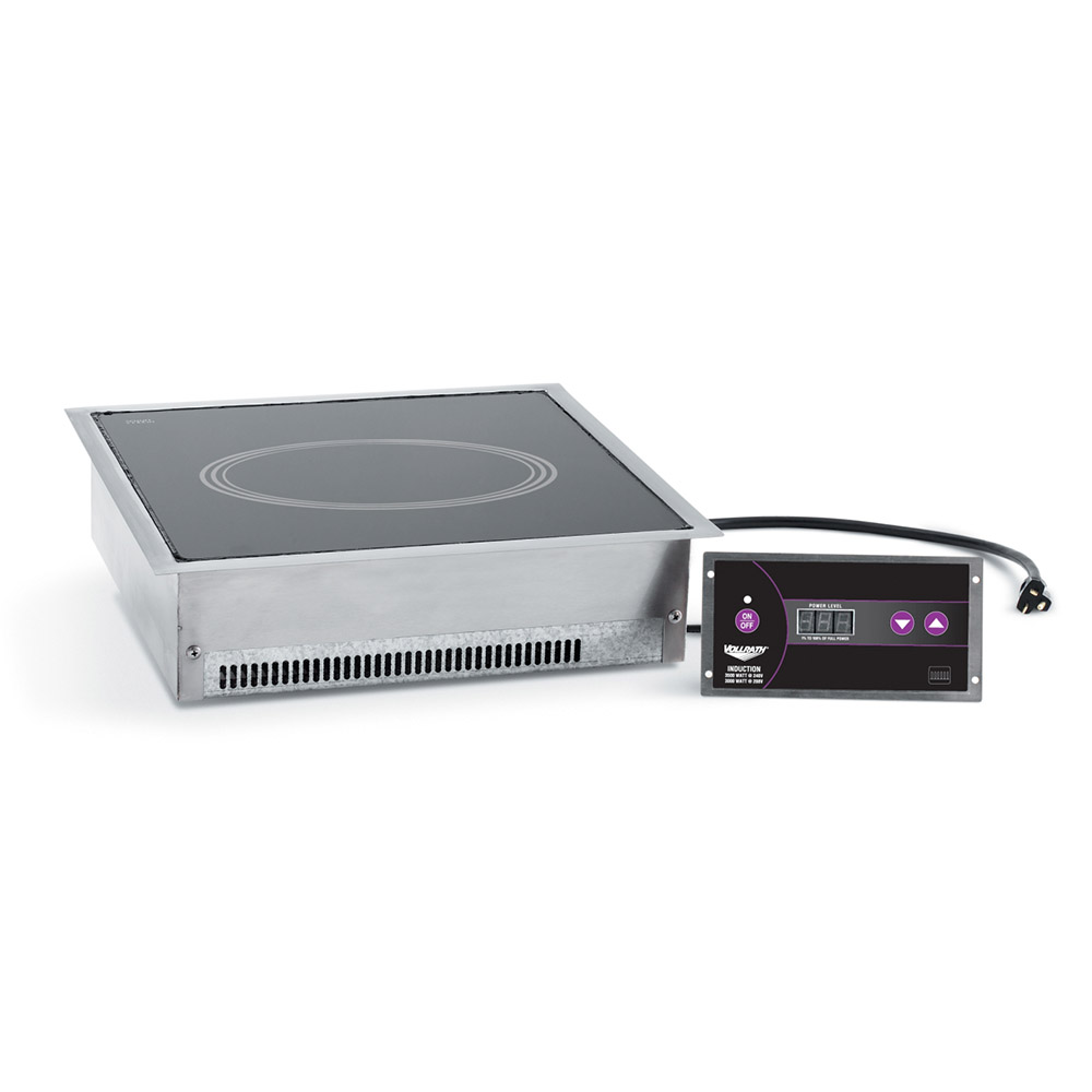 Vollrath 69521 Drop-In Commercial Induction Cooktop w/ (1) Burner, 208-240v/1ph