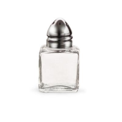 Vollrath 710 1/2-oz Salt/Pepper Shaker - Chrome Cap, Glass