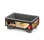Vollrath 720200007 Cayenne Full Size Soup Merchandiser, Variety Graphics, Base, 120V