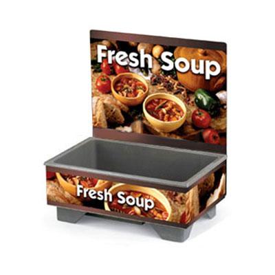 Vollrath 720200103 Full-Size  Soup Merchandiser Base - Country Kitchen, Menu Board 120v