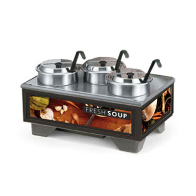 Vollrath 720201002 Full-Size  Soup Merchandiser Base - Tuscan, 4-qt Accessories 120v