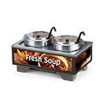 Vollrath 720202003 Full-Size  Soup Merchandiser Base - Country Kitchen, 7-qt Accessories 120v