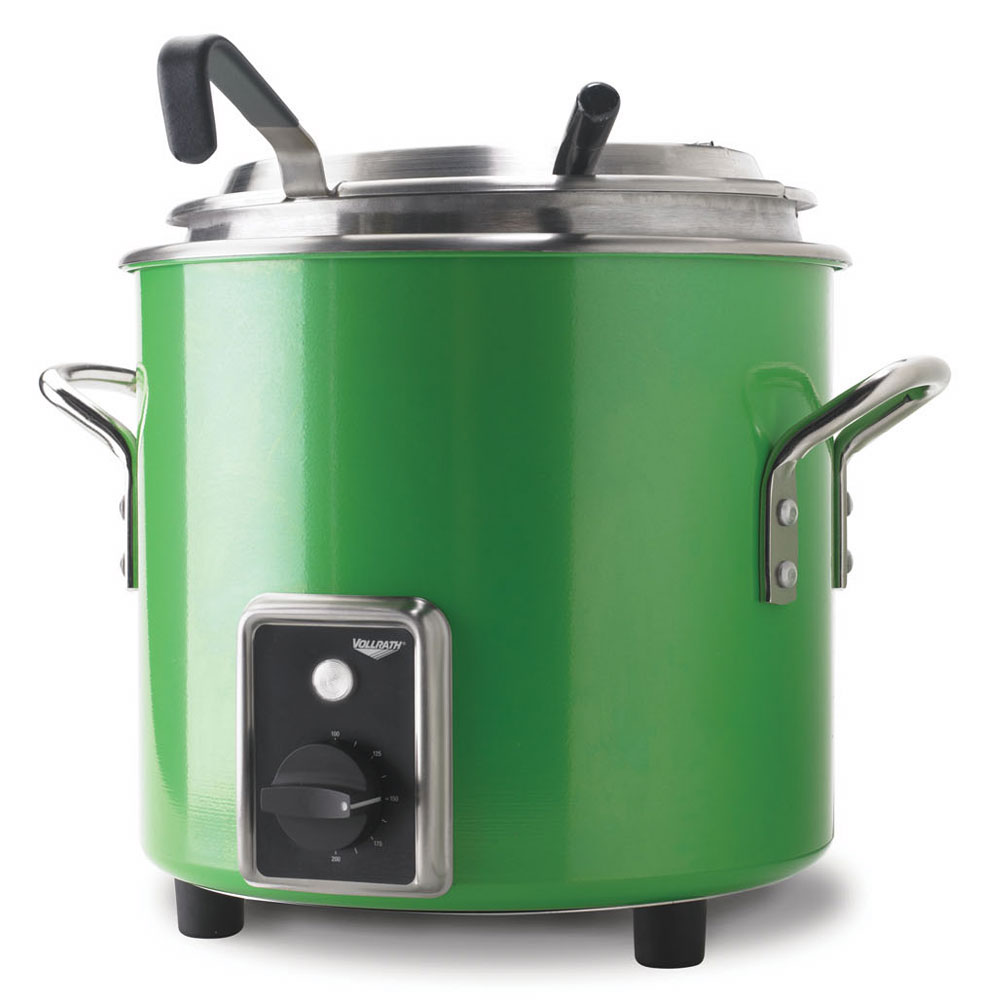 Vollrath 7217235 11-qt Kettle Rethermalizer - Thermostat, Green Apple 120v