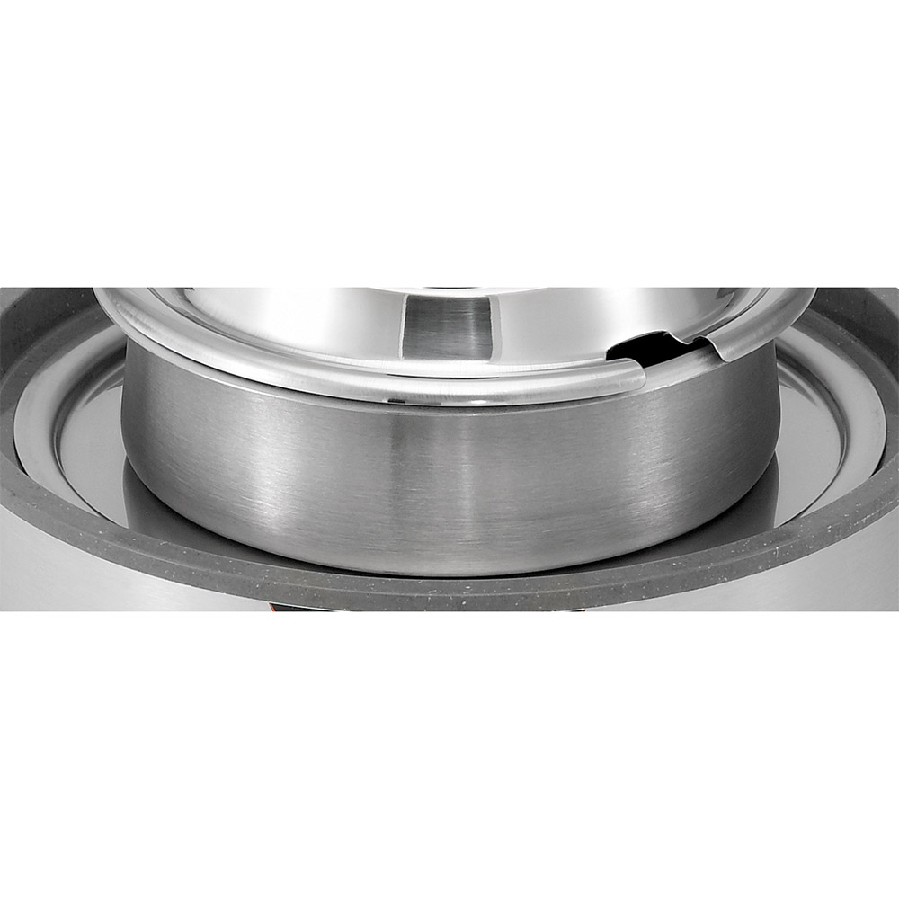 Vollrath 72221 Warmer/Cooker Adaptor Ring - Round, 7-qt to 4-qt, Stainless
