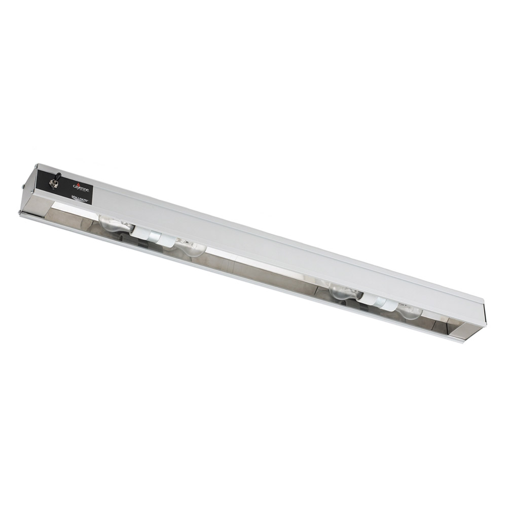 "Vollrath 7286002 18"" Cayenne Light Strip - Includes 60W Display Bulbs, 120v"