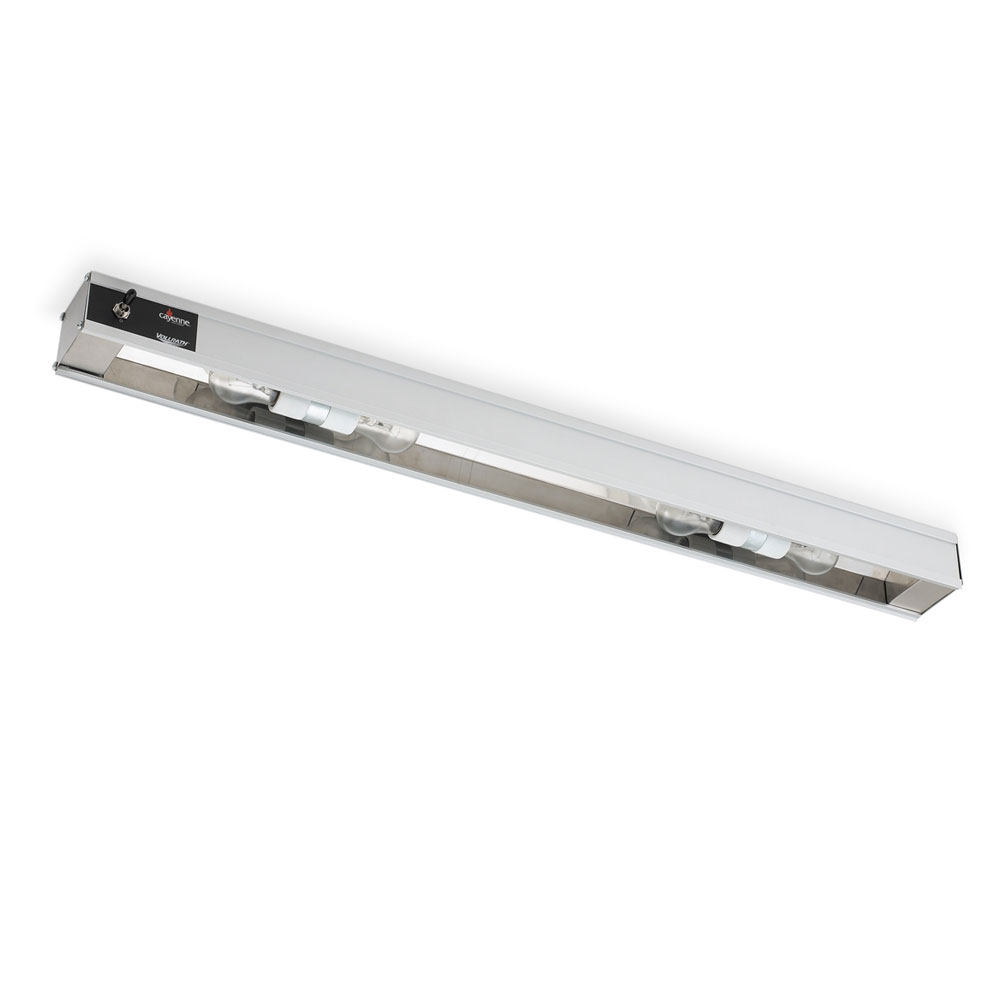 "Vollrath 7286100 24"" Cayenne Light Strip - Includes 40W Standard Bulbs, 120v"