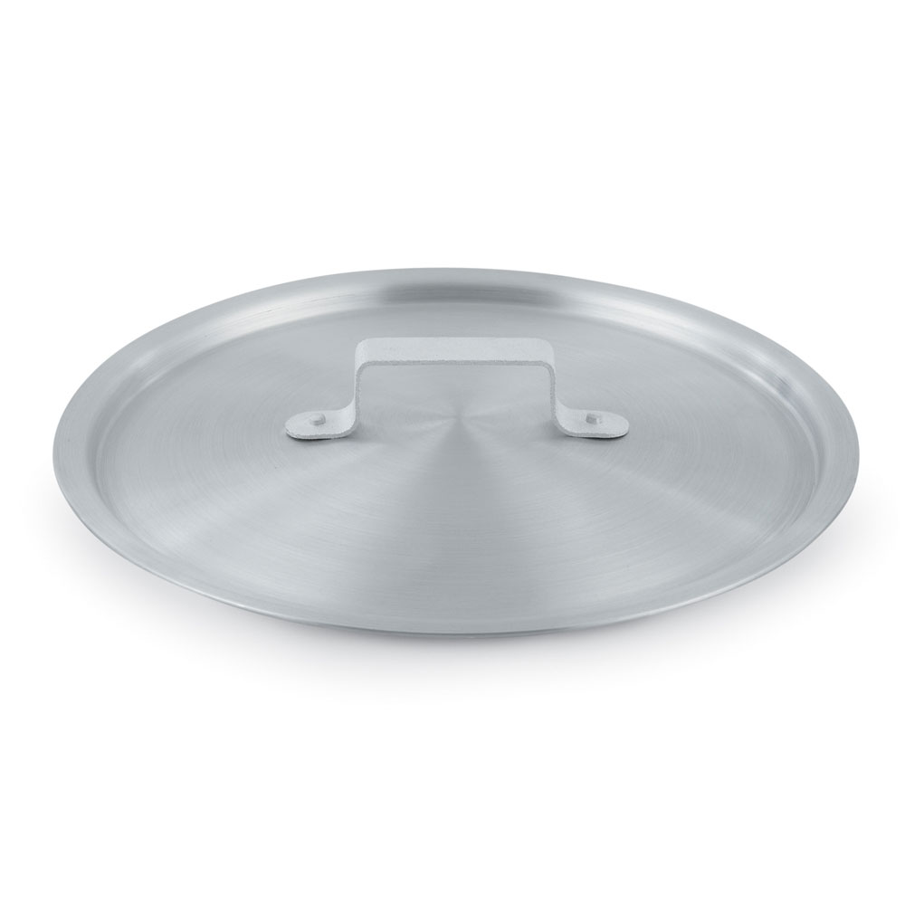 Vollrath 7341C 1-1/2-qt Arkadia Saucepan Cover - Natural-Finish Aluminum