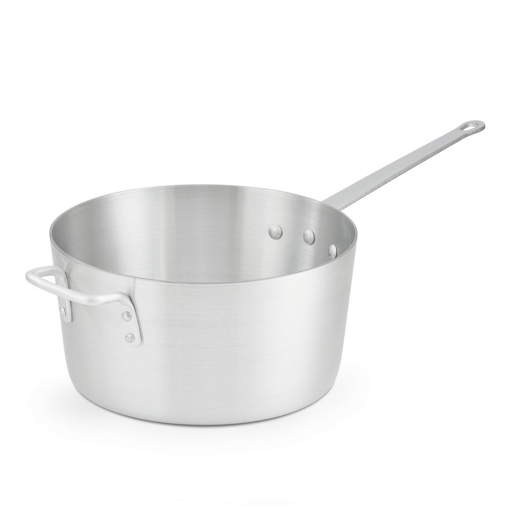 Vollrath 7350 10-qt Arkadia Saucepan - Natural-Finish Aluminum