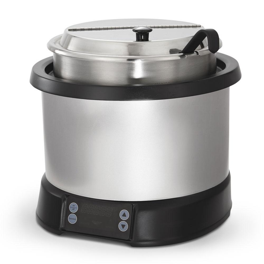 Vollrath 74110110 11-qt Induction Soup Rethermalizer - LED Control Natural/Black 120v