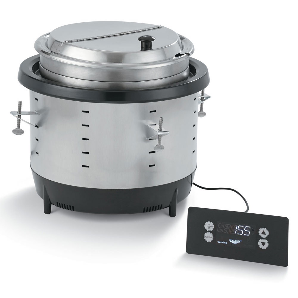 Large Food Warmer ~ Vollrath dw qt drop in induction food warmer