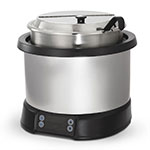 Vollrath 7470110 7-qt Induction Soup Rethermalizer - LED Control, Natural/Black 120v