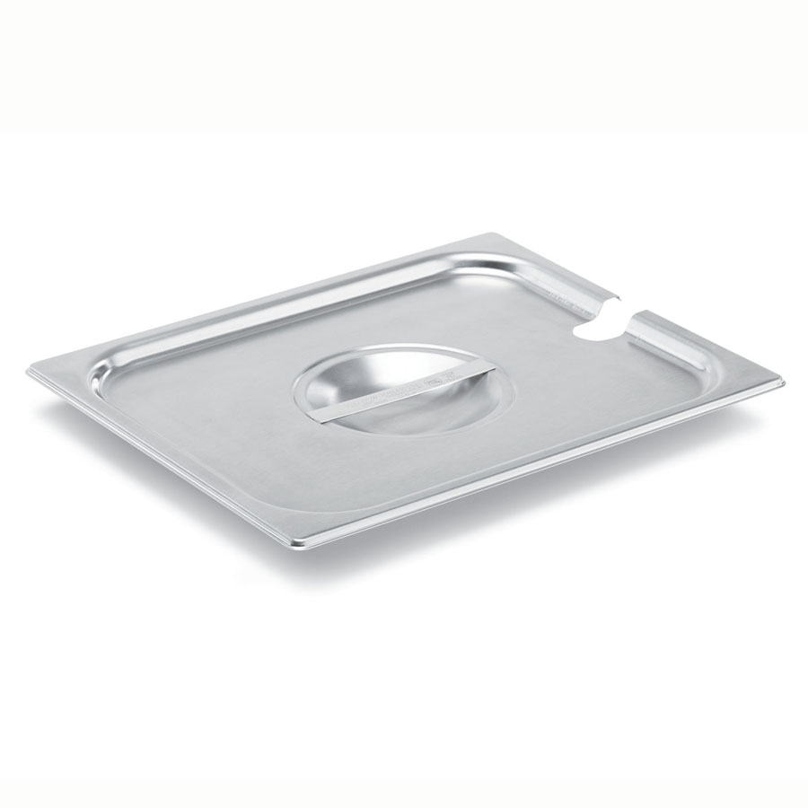 Vollrath 75240 Fourth-Size Steam Pan Cover, Stainless