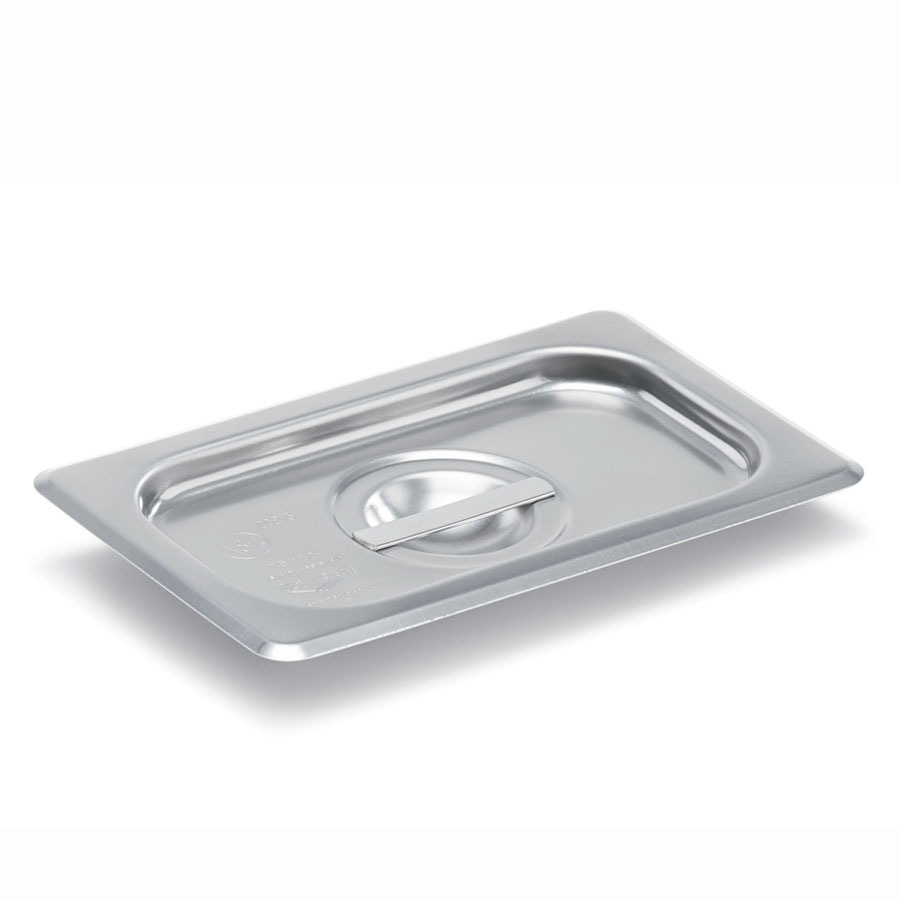 Vollrath 75360 Ninth-Size Steam Pan Cover, Stainless