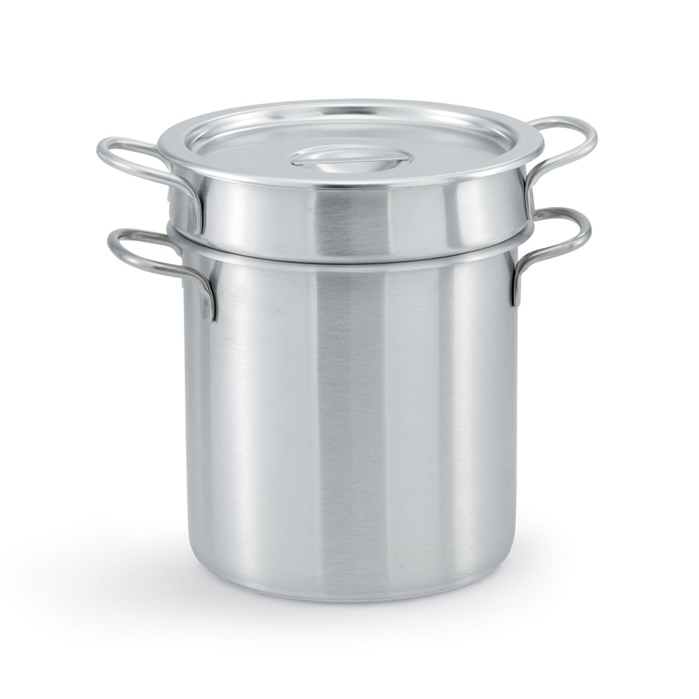 """Vollrath 77070 9.375"""" Stainless Steel Double Boiler w/ 7-qt Capacity"""