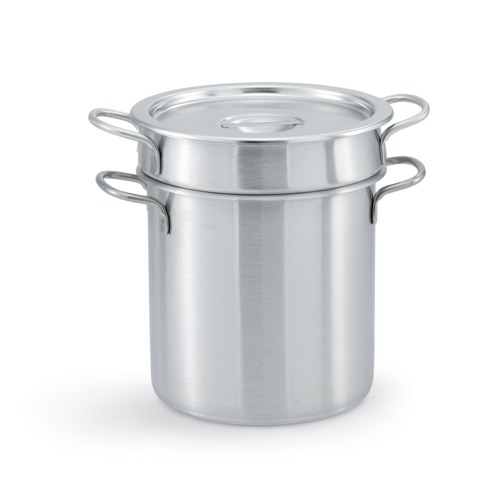 "Vollrath 77130 12.8125"" Stainless Steel Double Boiler w/ 20-qt Capacity"