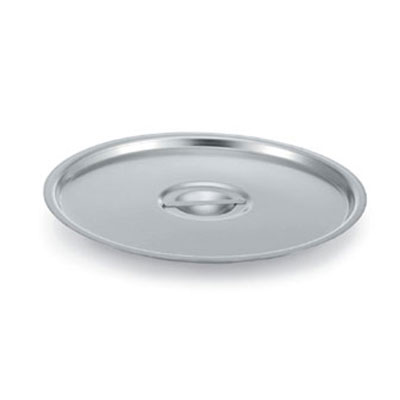 "Vollrath 77682 14"" Stock Pot Cover for 77630, Stainless"