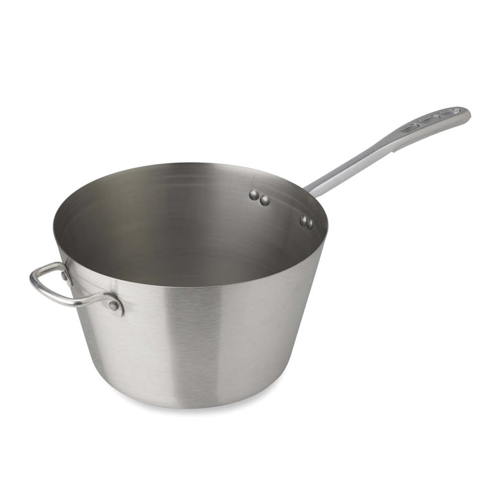Vollrath 78351 5.5-qt Stainless Steel Saucepan w/ Vented Silicone Handle