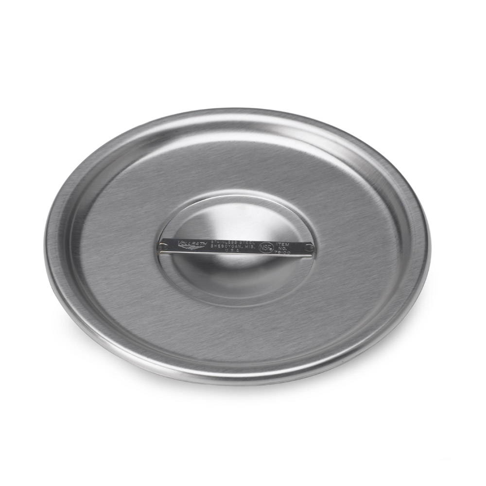 Vollrath 79100 4-1/4-qt Bain Marie Pot Cover - Stainless