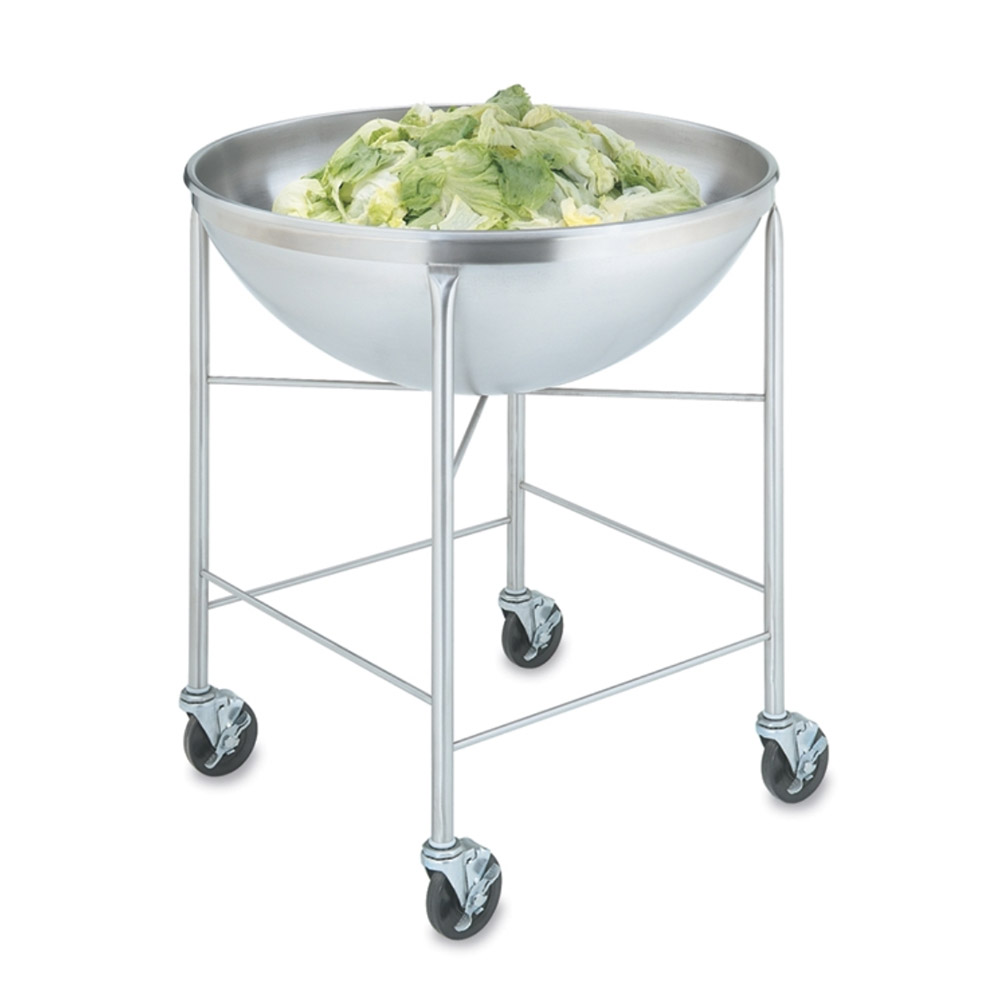 "Vollrath 79818 80-qt Mixing Bowl with Stand - 30-1/8x32-3/8x32-1/2"" Stainless"