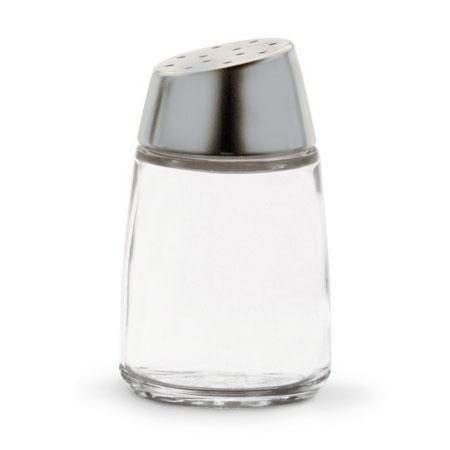"Vollrath 802-12 3"" Salt/Pepper Shaker w/ Metal Lid, Round"