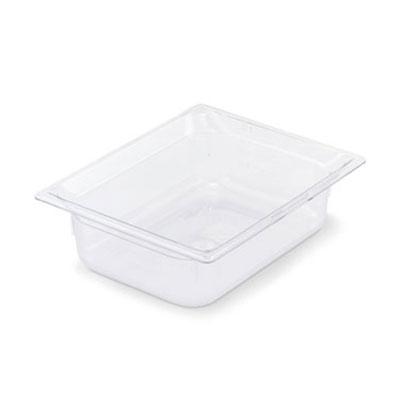 "Vollrath 8028410 Half-Size Food Pan - 8"" Deep, Low-Temp, Clear Poly"