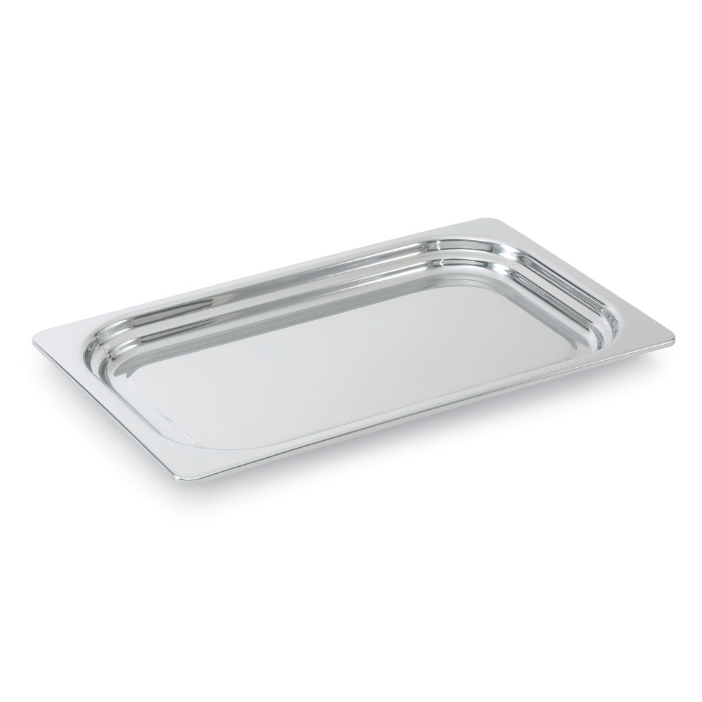 Vollrath 8230305 2.9-qt Plain Full-Size Rectangular Pan - Stainless