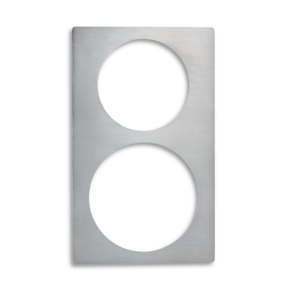 Vollrath 8242014 Miramar Single-Size Template - (1)5-qt Casserole and (1)3-qt Casserole, Stainless