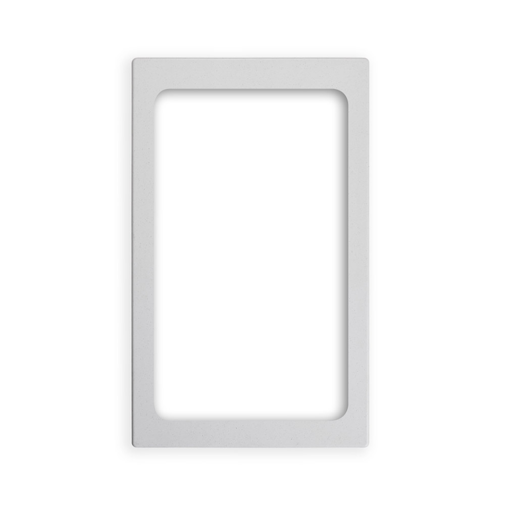 "Vollrath 8244020 Miramar Full-Size Pan Template - 12x20"" White Stone"