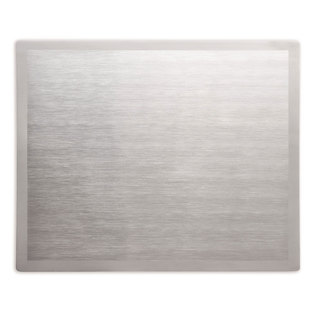 Vollrath 8250016 Miramar Double-Well Blank Template - Satin-Edge Stainless