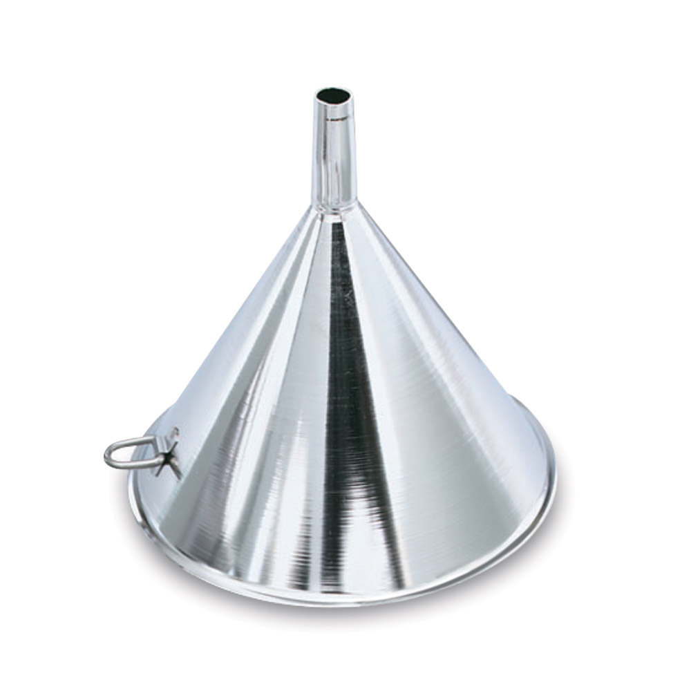 "Vollrath 84750 5"" Funnel - 13-oz, 5/8"" Vent, Stainless"