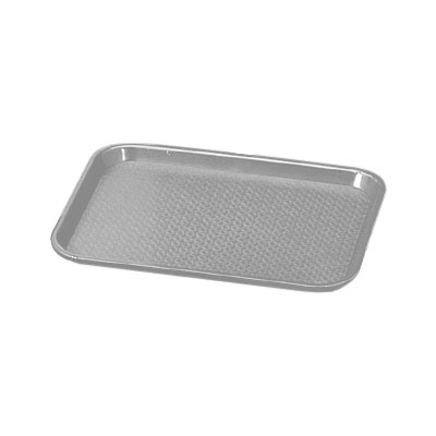 "Vollrath 86115 Fast Food Tray - 12x16"" Gray Poly"