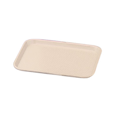 "Vollrath 86126 Fast Food Tray - 14x18"" Almond Poly"