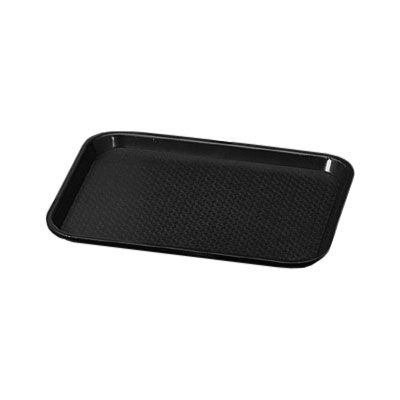 "Vollrath 86128 Fast Food Tray - 14x18"" Black Poly"