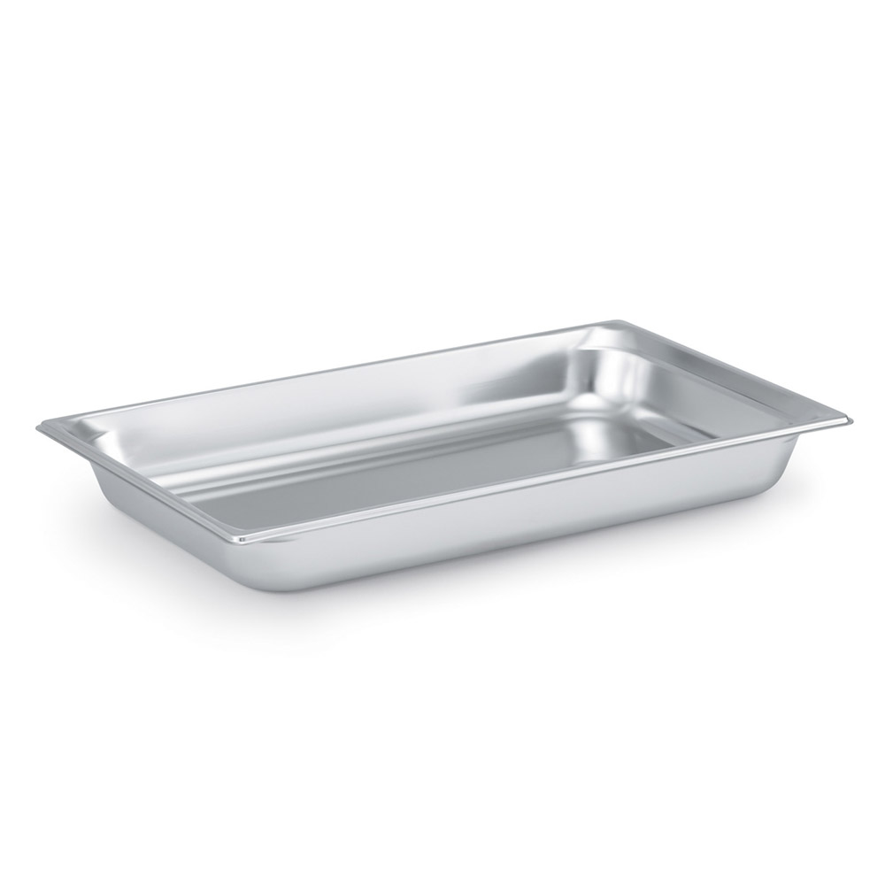 Vollrath 90022 Super Pan 3 Full-Size Steam Pan, Stainless