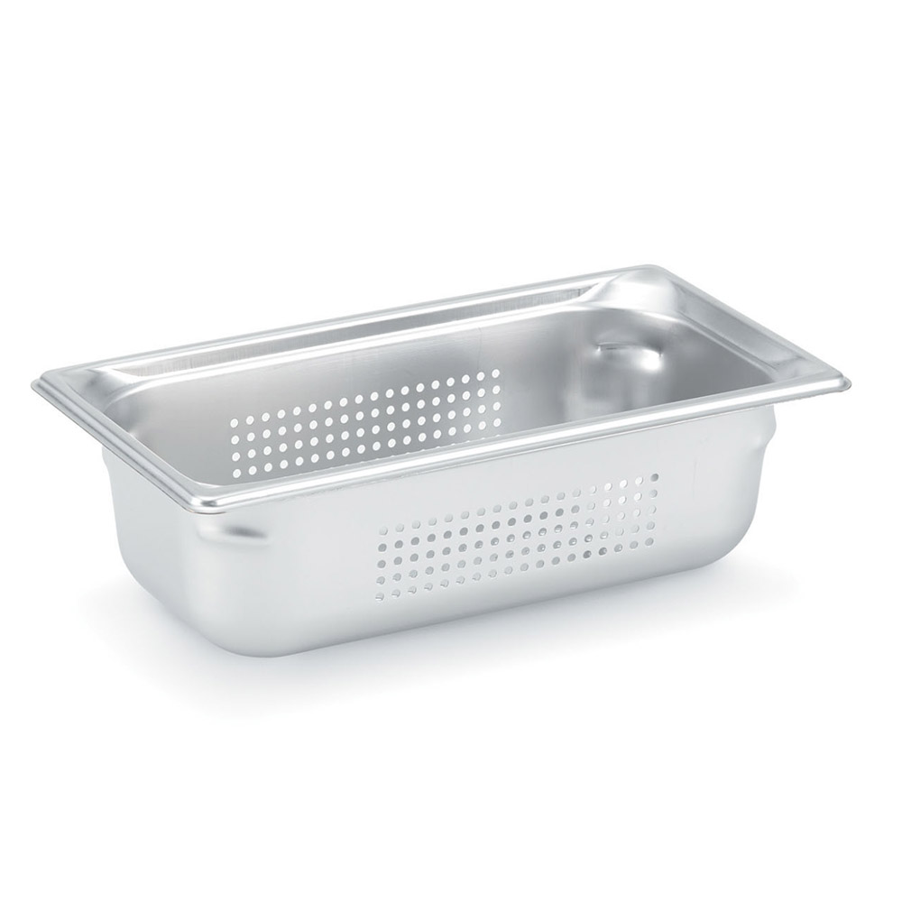 Vollrath 90063 Super Pan 3 Full-Size Perforated Steam Pan, Stainless