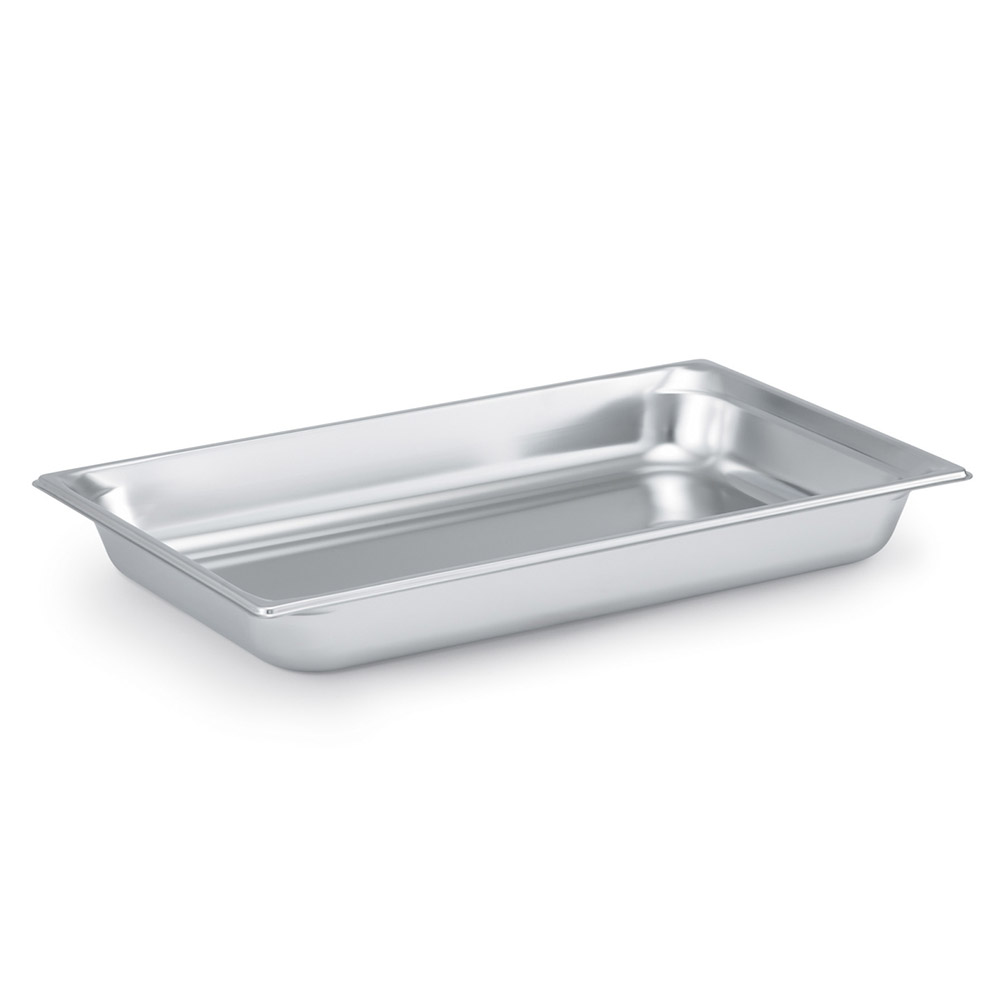 Vollrath 90082 Super Pan 3 Full-Size Steam Pan, Stainless