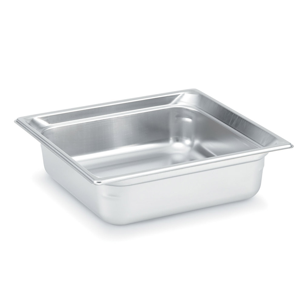 Vollrath 90142 Super Pan 3 Two-Third Size Steam Pan Cover, Stainless