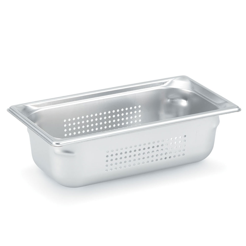 Vollrath 90343 Super Pan 3 Third-Size Steam Pan, Stainless