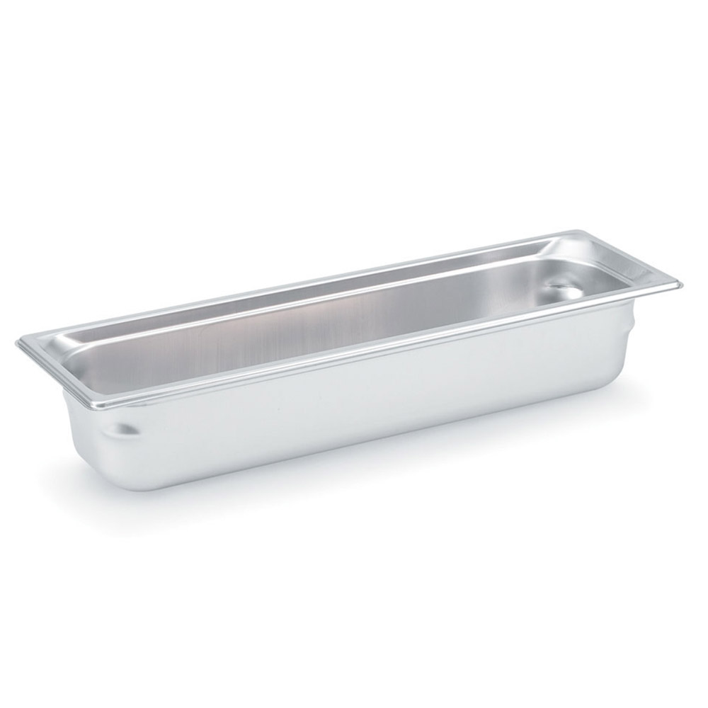 Vollrath 90522 Super Pan 3 Half-Size Long Steam Pan, Stainless