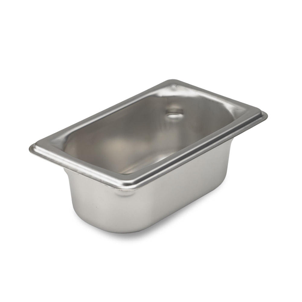 Vollrath 90922 Super Pan 3 Ninth-Size Steam Pan, Stainless