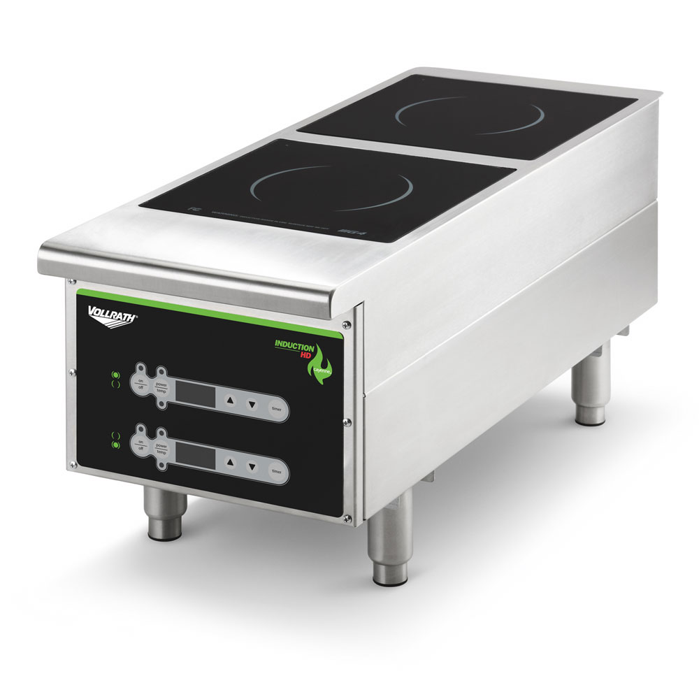 Vollrath Induction Cooker ~ Vollrath hidc countertop commercial induction cooktop w