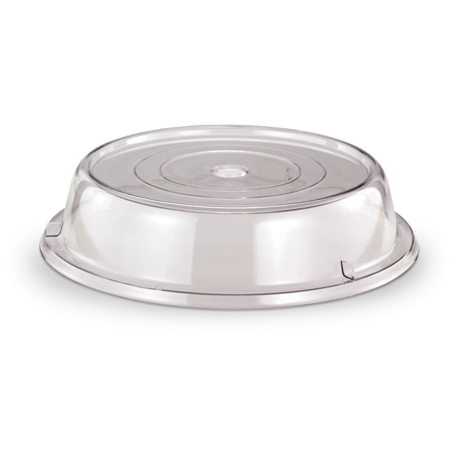 "Vollrath 918-13 Safe-Stack Plate Cover - Fits Plates 8-1/2-9-1/8"" Poly Clear"