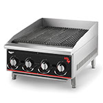 "Vollrath 924CG 24"" Heavy-Duty Charbroiler - Manual Control, 80,000 BTU"