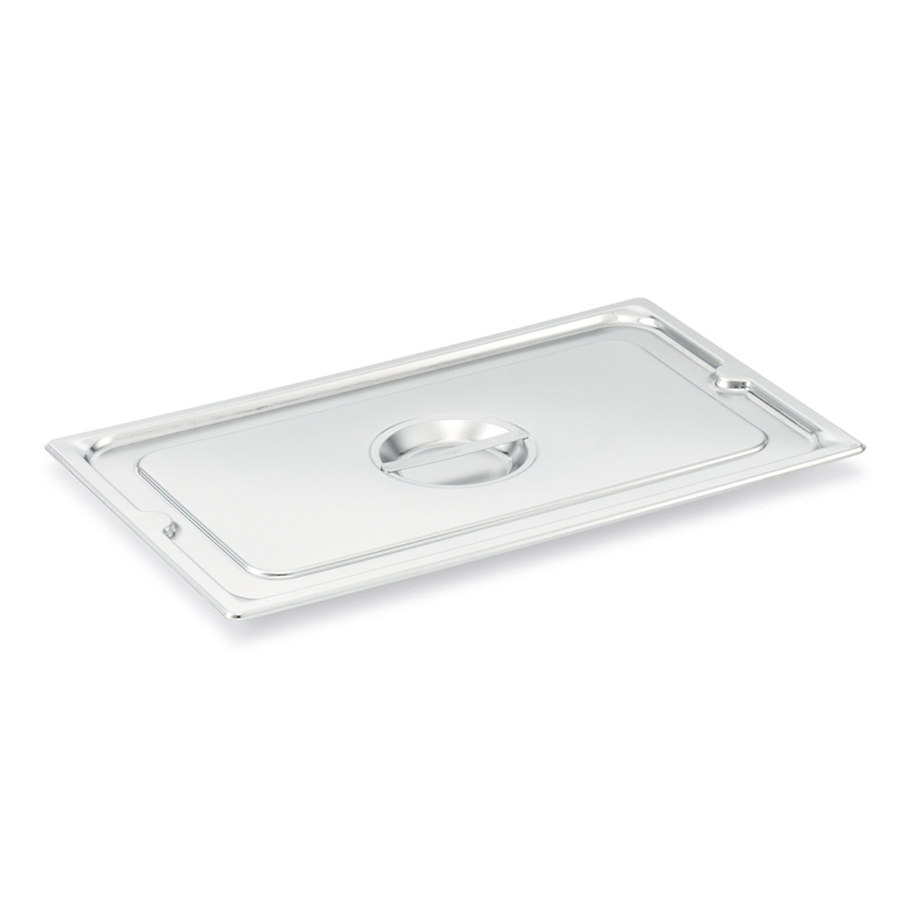 Vollrath 93100 Full-Size Flat Steam Pan Cover, Stainless