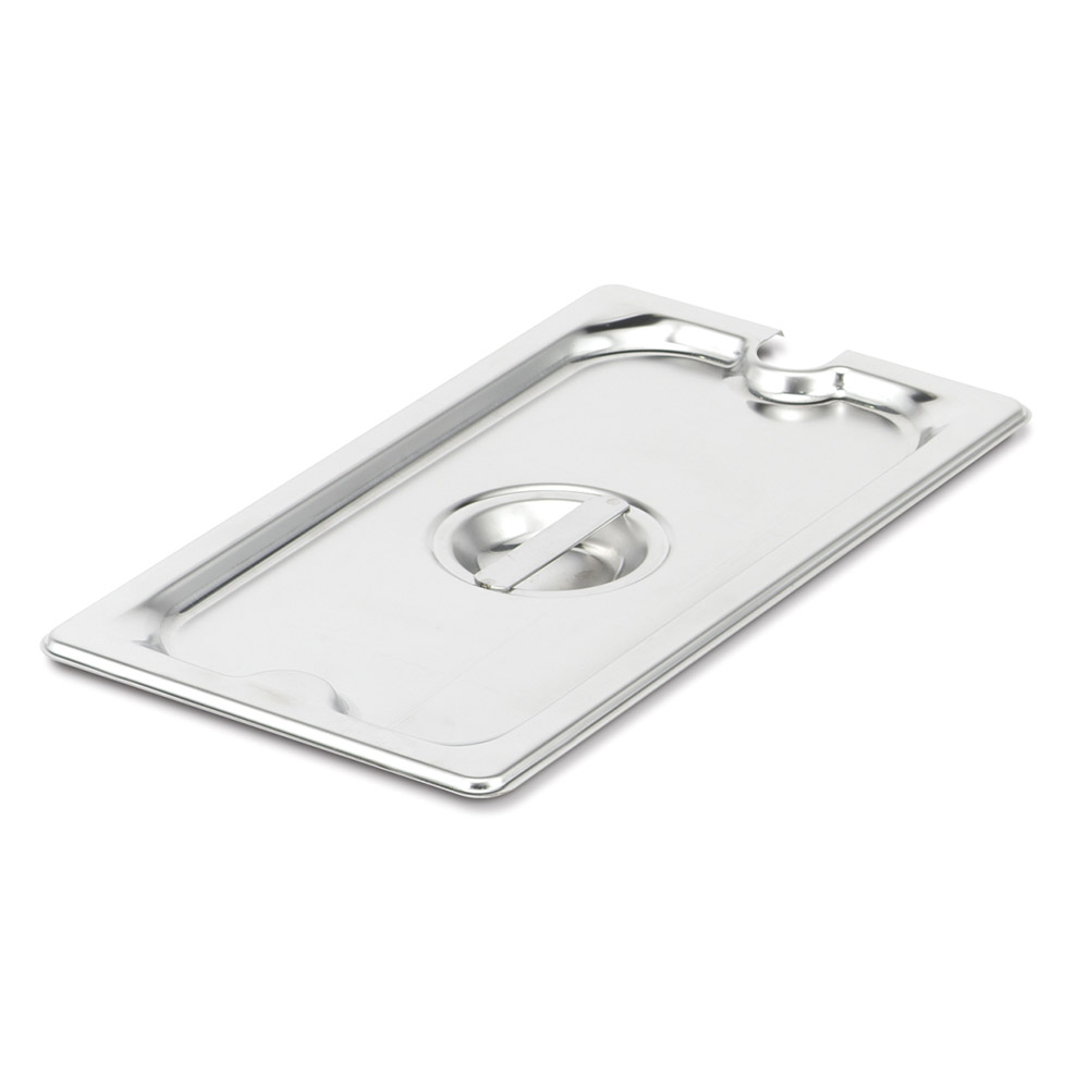 Vollrath 94400 Fourth-Size Steam Pan Slotted Cover, Stainless