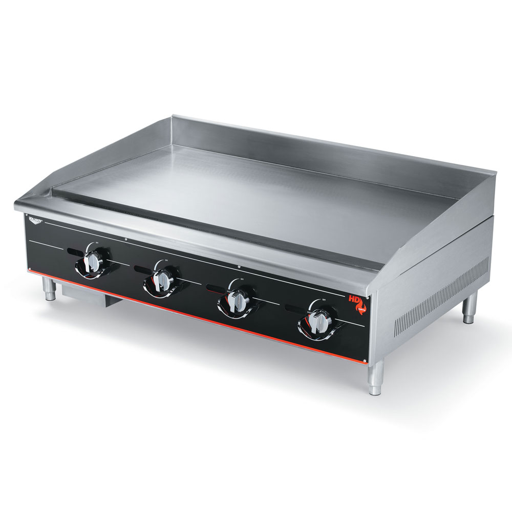 "Vollrath 948GGM 48"" Gas Griddle - Manual, 1"" Steel Plate, NG"