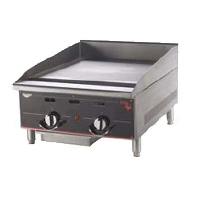 "Vollrath 948GGT 48"" Gas Griddle - Thermostatic, 1""  Plate, NG"