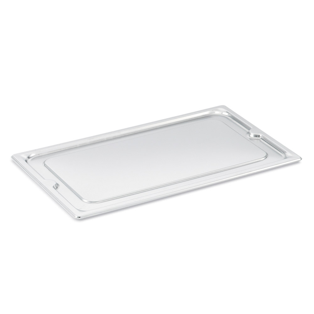 Vollrath 95300 Third-Size Steam Pan Slotted Cover, Stainless