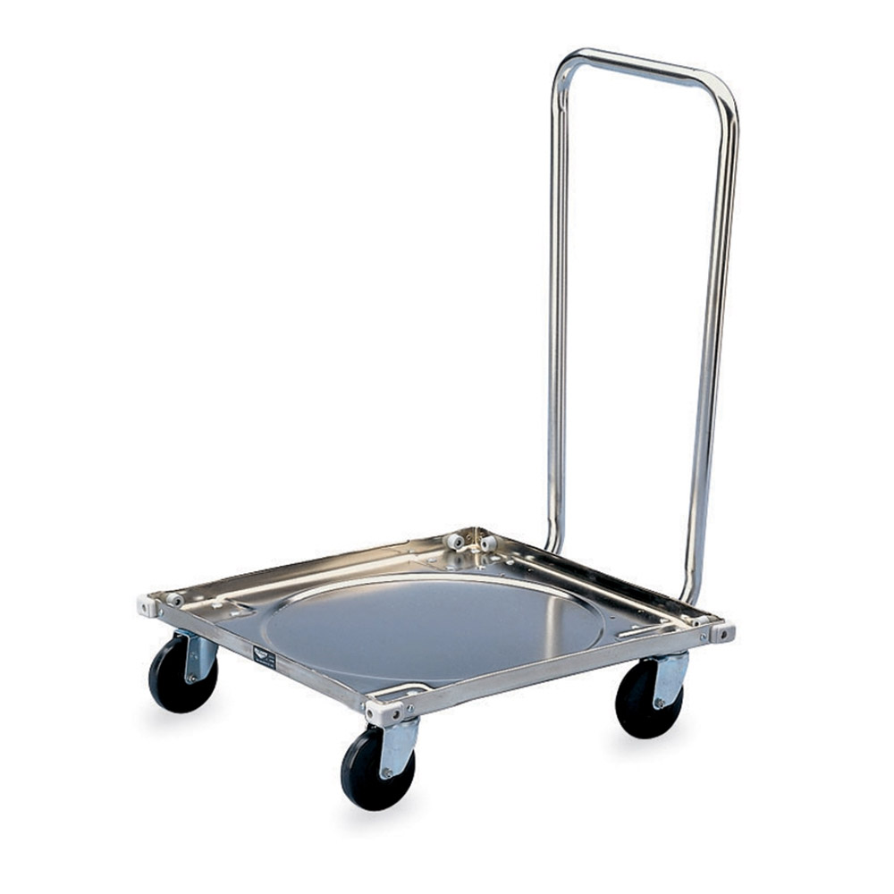 Vollrath 97190 Dolly for Glass/Dish Rack w/ 200-lb Capacity
