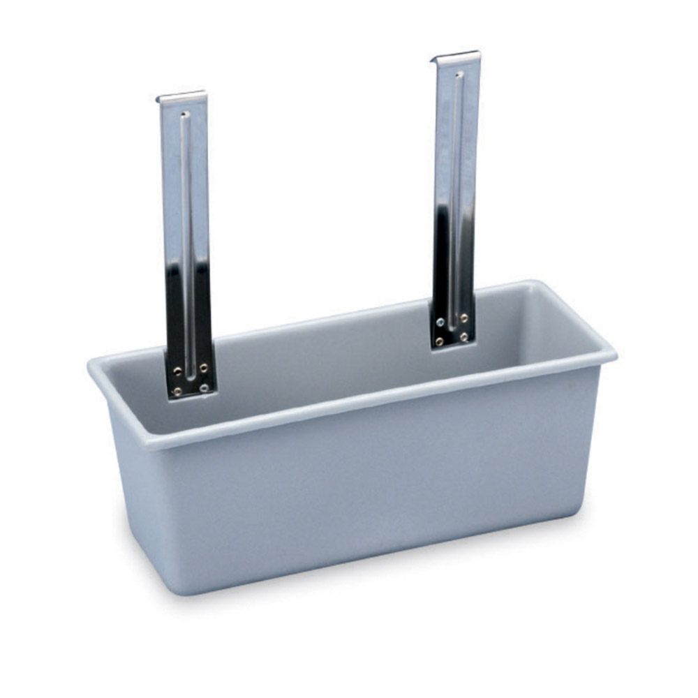 Vollrath 97280 Bussing Cart Silverware Bin - Gray Plastic